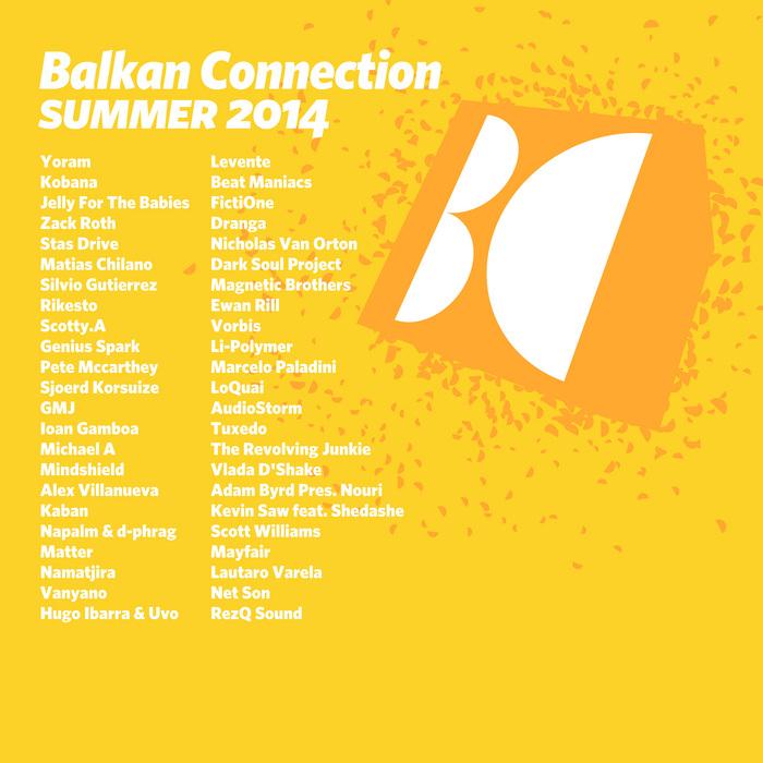 YORAM - Balkan Connection Summer 2014