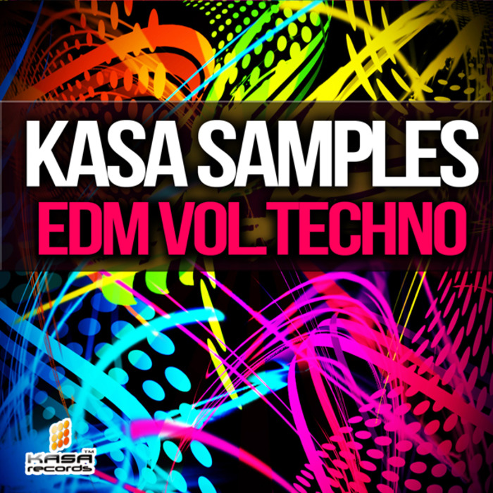 KASA SAMPLES - EDM Vol Techno (Sample Pack WAV/MIDI)
