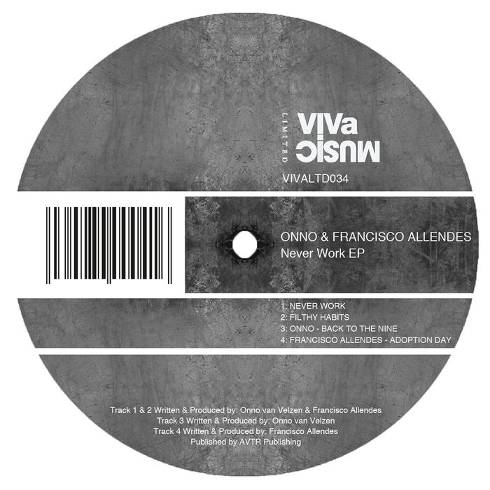 ALLENDES, Francisco/ONNO - Never Work EP