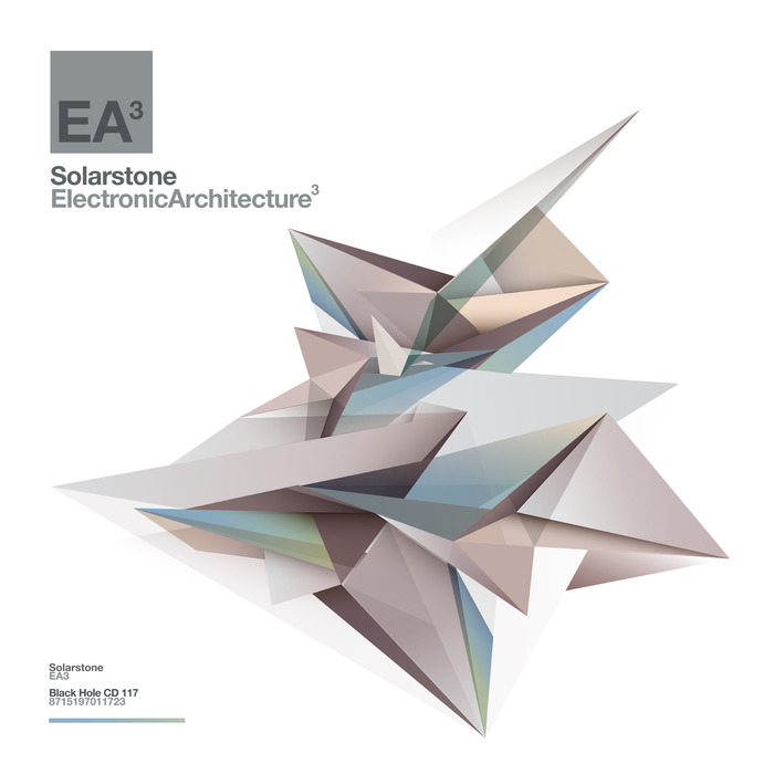 EA3/SOLARSTONE/VARIOUS - Electronic Architecture 3 (unmixed tracks)