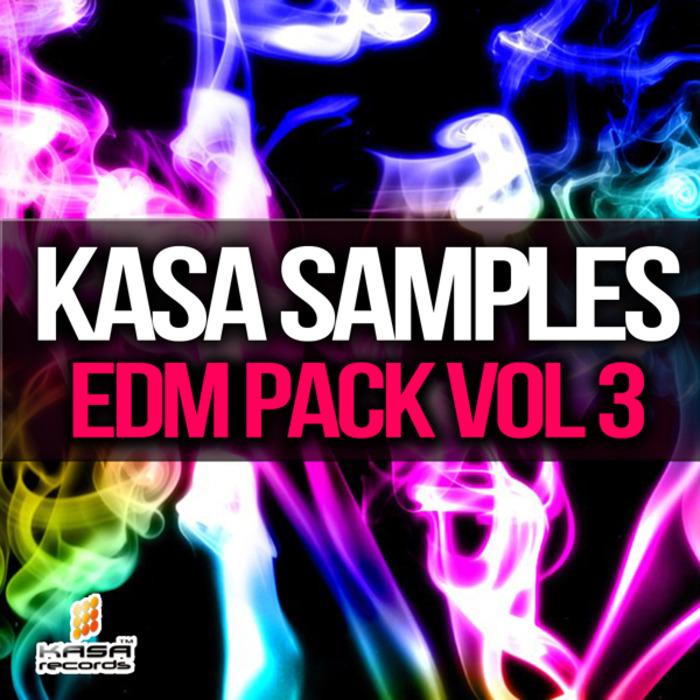 KASA SAMPLES - EDM Pack Vol 3 (Sample Pack WAV/MIDI)