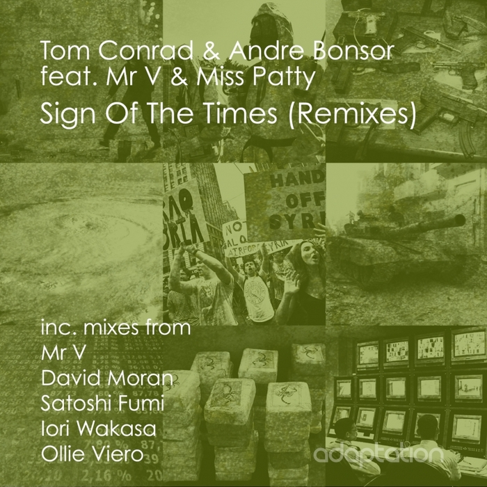 CONRAD, Tom/ANDRE BONSOR feat Mr V & Miss Patty - Sign Of The Times (remixes)