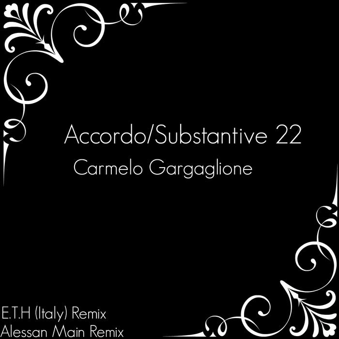 GARGAGLIONE, Carmelo - Accordo/Substantive 22