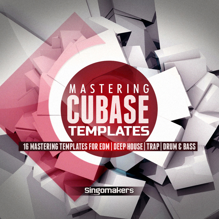 SINGOMAKERS - Cubase Mastering Templates (Sample Pack Cubase)