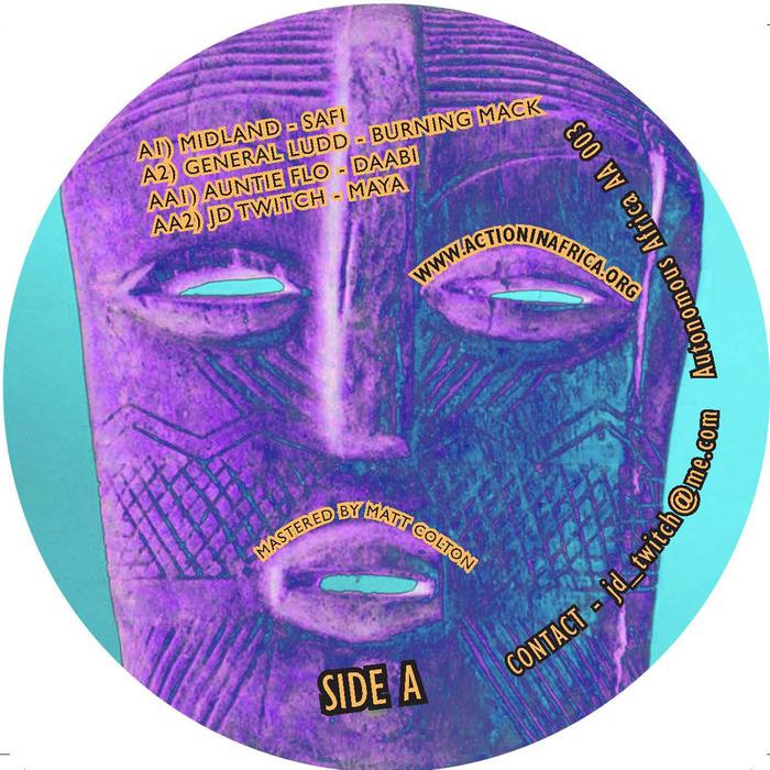 MIDLAND/GENERAL LUDD/AUNTIE FLO/JD TWITCH - Autonomous Africa Volume 3