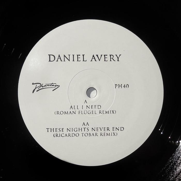 DANIEL AVERY - All I Need (Remixes)