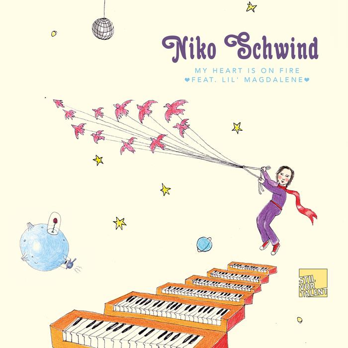 SCHWIND, Niko feat LIL MAGDALENE - My Heart Is On Fire