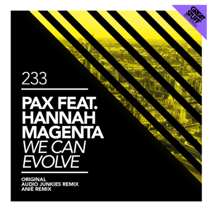 PAX feat HANNAH MAGENTA - We Can Evolve