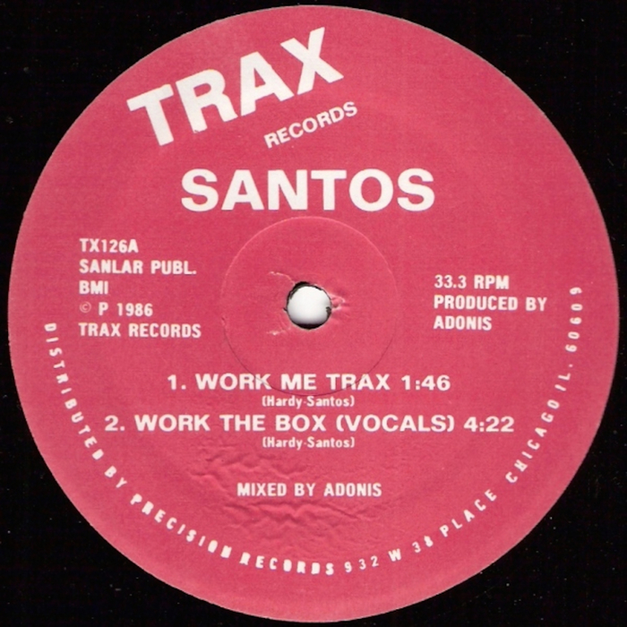SANTOS - Work The Box