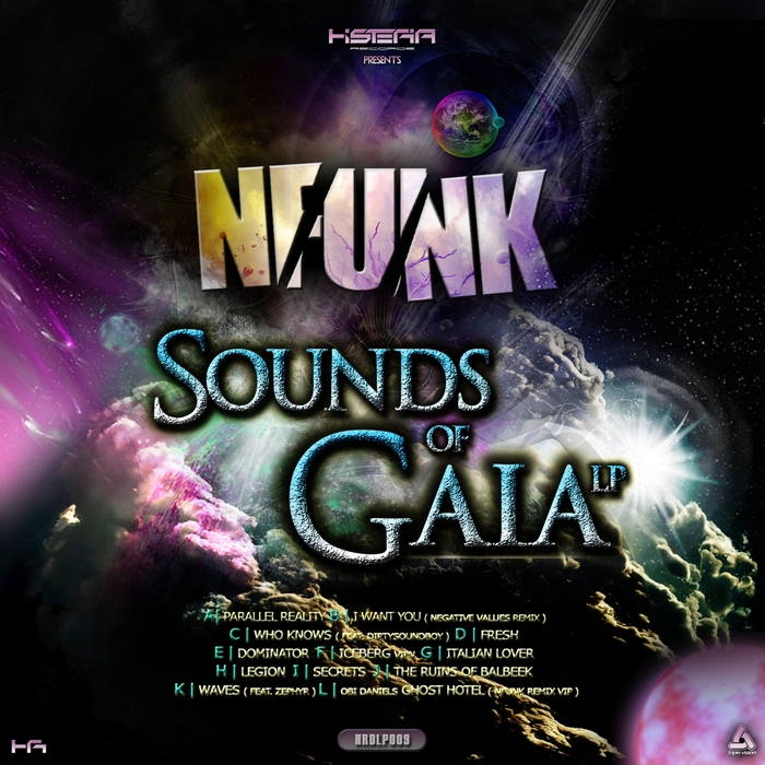 NFUNK - Sounds Of Gaia LP