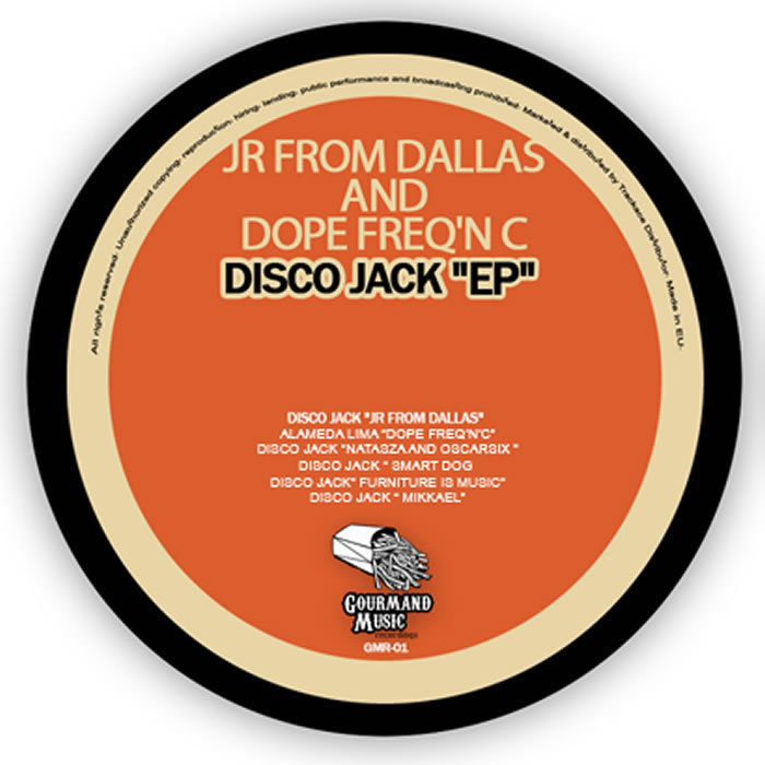 JR FROM DALLAS/DOPE FREQ N C - Disco Jack EP