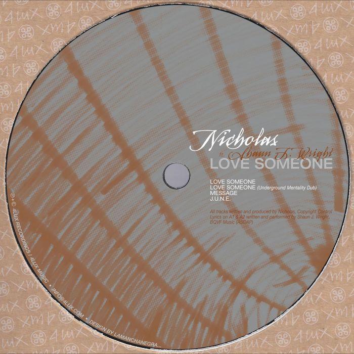 NICHOLAS - Love Someone