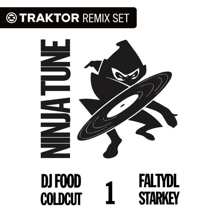DJ FOOD/COLDCUT/HEXSTATIC/STARKEY/FALTYDL - Ninja Tune Traktion EP1 (Traktor Remix Sets)