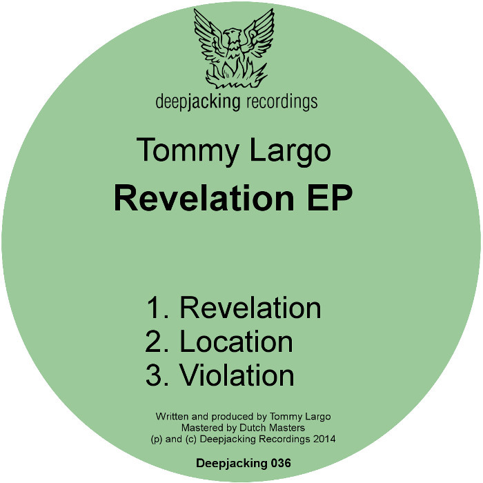 LARGO, Tommy - Revelation EP
