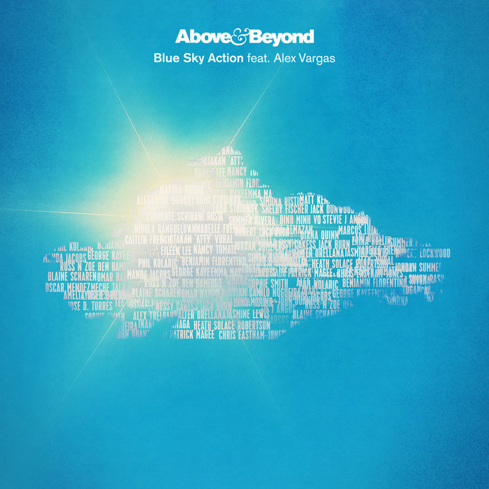 ABOVE & BEYOND feat ALEX VARGAS - Blue Sky Action