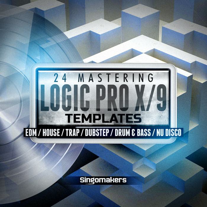SINGOMAKERS - Logic Pro X/9 Mastering Templates (Sample Pack Logic)