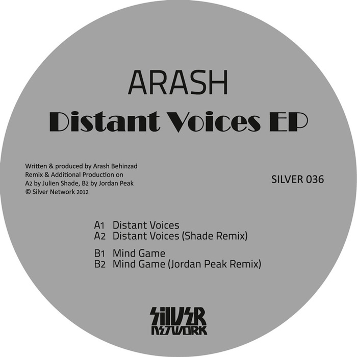 ARASH - Distant Voices EP