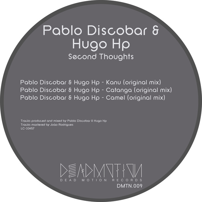 DISCOBAR, Pablo/HUGO HP - Second Thoughts