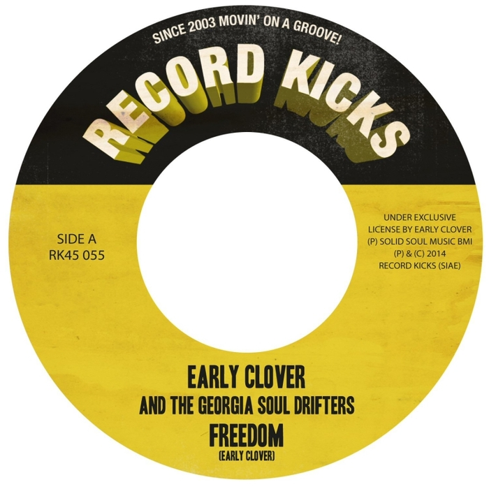 EARLY CLOVER & THE GEORGIA SOUL DRIFTERS - Holy Grail Deep Funk 45
