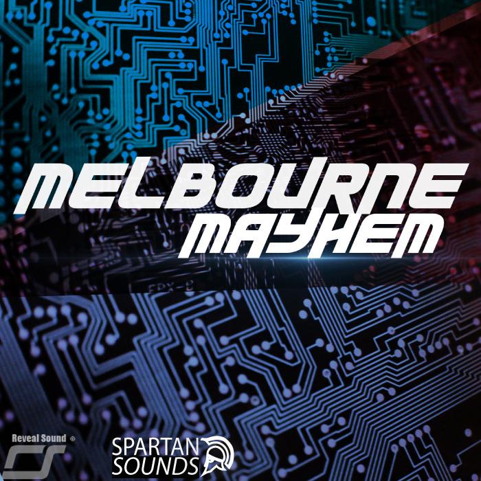 SPARTAN SOUNDS - Melbourne Mayhem For Spire Vol 1 (Sample Pack Spire)
