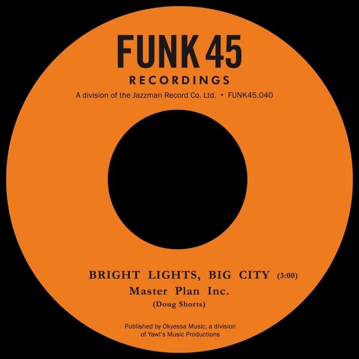 MASTER PLAN INC - Heartbreaker/Bright Lights Big City