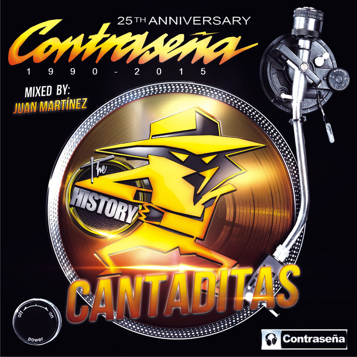VARIOUS - Contrasena: The History (Cantaditas 25th Anniversary 1990 2015)