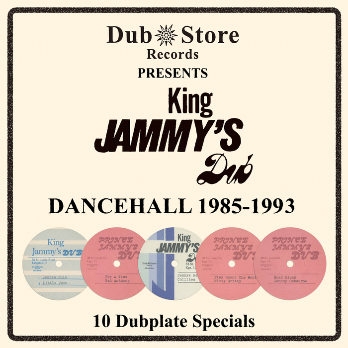 VARIOUS - King Jammy's Dancehall Dubplates 1985 To 1993 - 10 Single Set