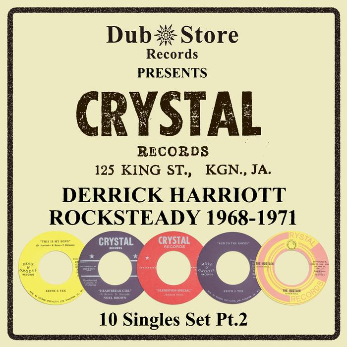 VARIOUS - Derrick Harriott Rocksteady 1968 To 1971 - 10 Singles Set Pt. 2