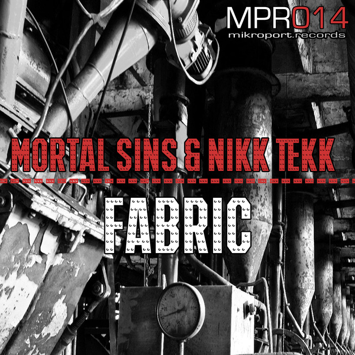 MORTAL SINS/NIKK TEKK - Fabric