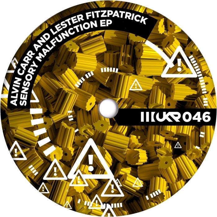 CARR, Alvin/LESTER FITZPATRICK - Sensory Malfunction EP