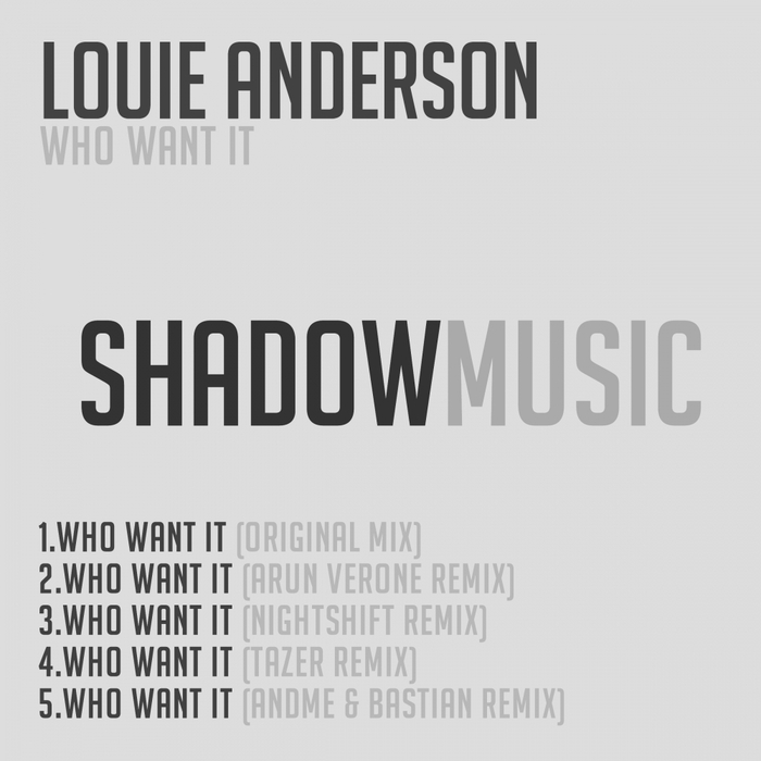 ANDERSON, Louie - Who Want It