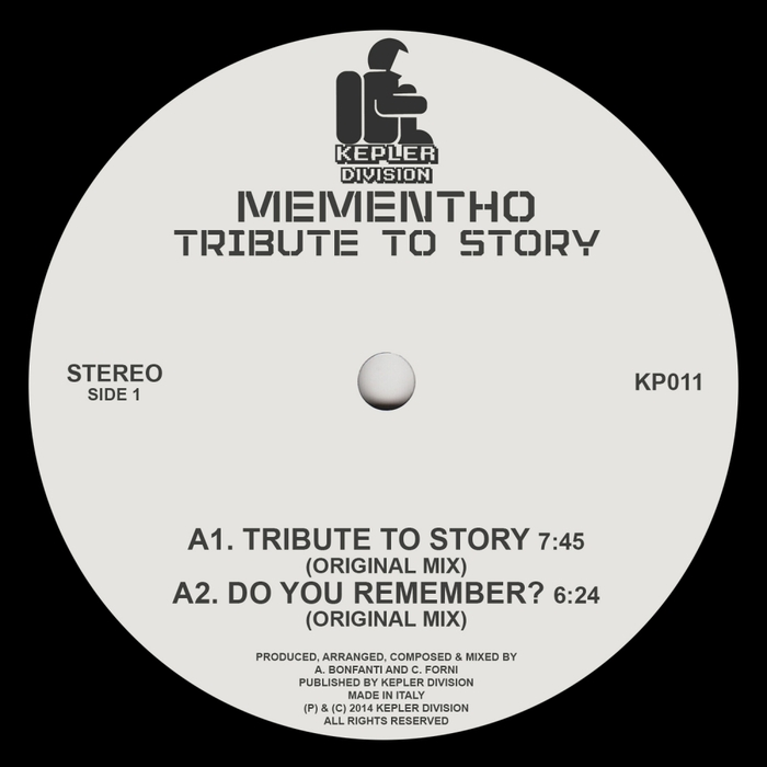 MEMENTHO - Tribute To Story
