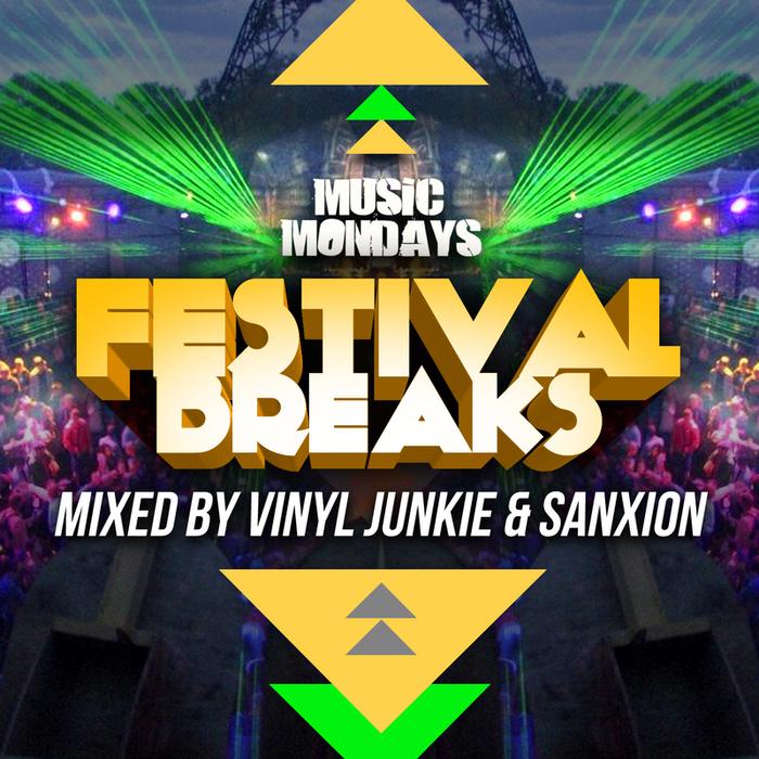 VARIOUS - Festival Breaks (Mixed By Vinyl Junkie & Sanxion)