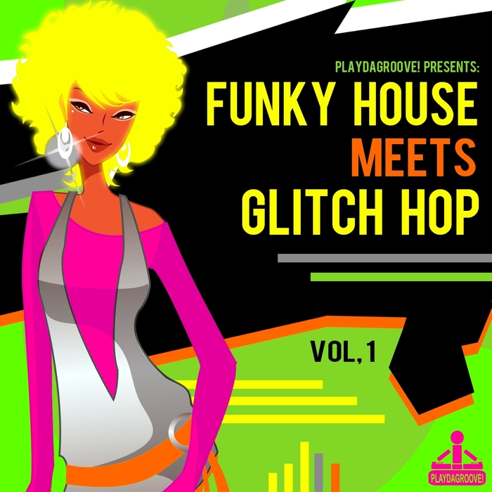 VARIOUS - Funky House Meets Glitch Hop Vol 1
