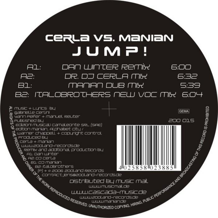 CERLA vs MANIAN - Jump (remixes)