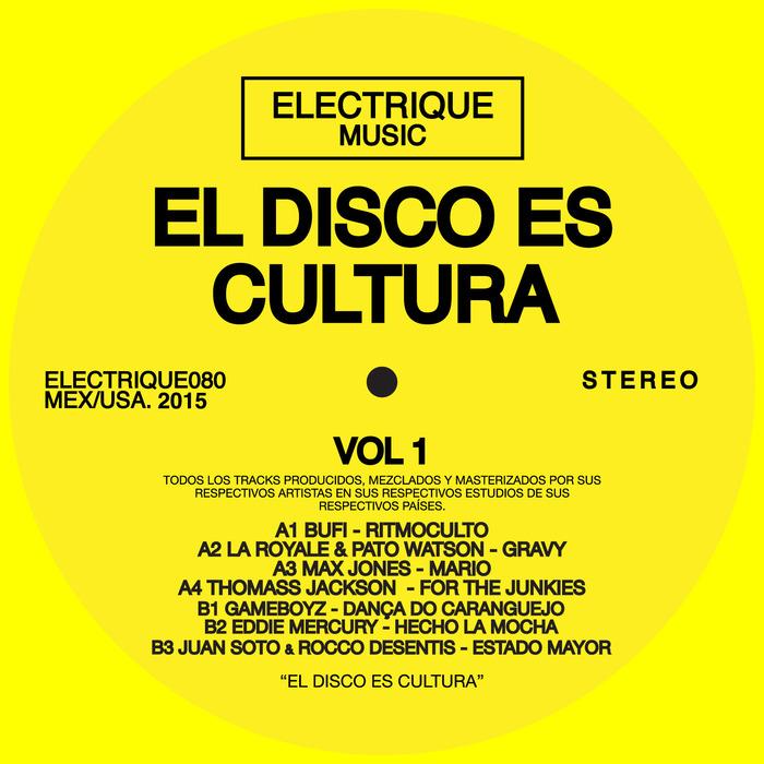 VARIOUS - El Disco Es Cultura Vol 1