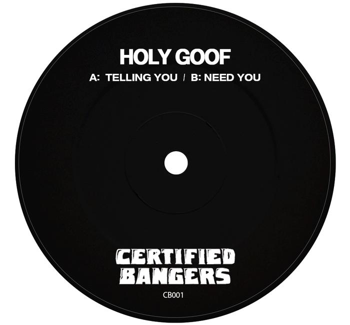 HOLY GOOF - Telling You EP