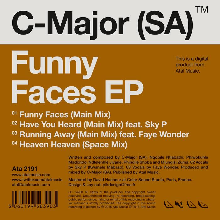 C-MAJOR (SA) - Funny Faces EP