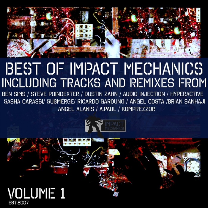 VARIOUS - The Best Of Impact Mechanics Vol 1