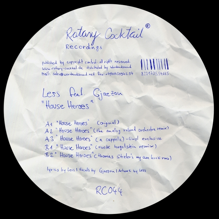 LESS feat GJAEZON - House Heroes (remixes)
