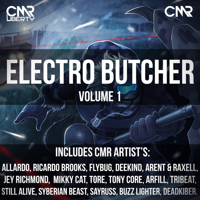 VARIOUS - Electro Butcher Vol 1 (unmixed tracks)