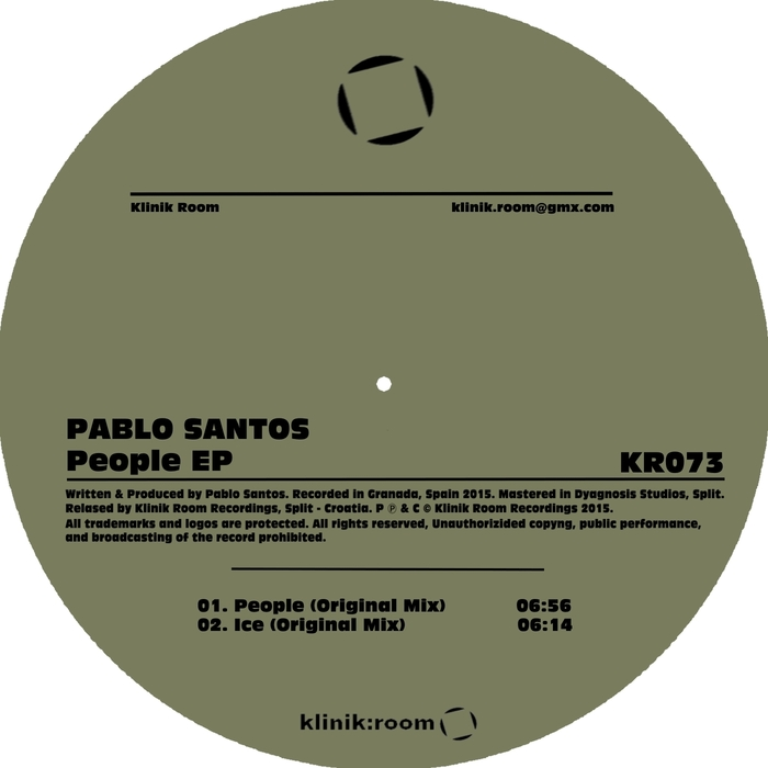 SANTOS, Pablo - People EP