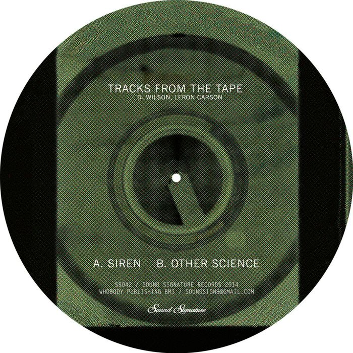 D WILSON/LERON CARSON - Tracks From The Tape