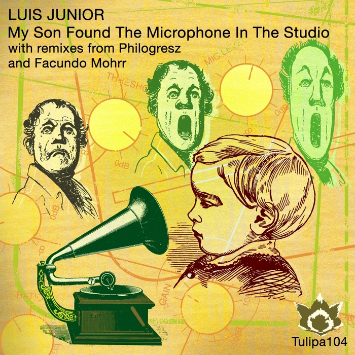 JUNIOR, Luis - My Son Found The Microphone In The Studio