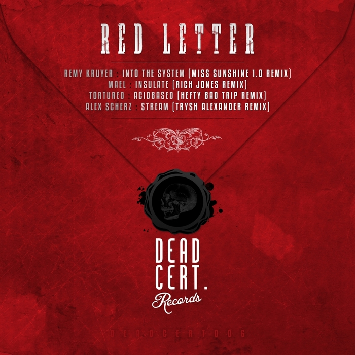 VARIOUS - Red Letter