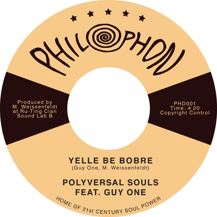 POLYVERSAL SOULS, The feat GUY ONE - Yelle Be Bobre