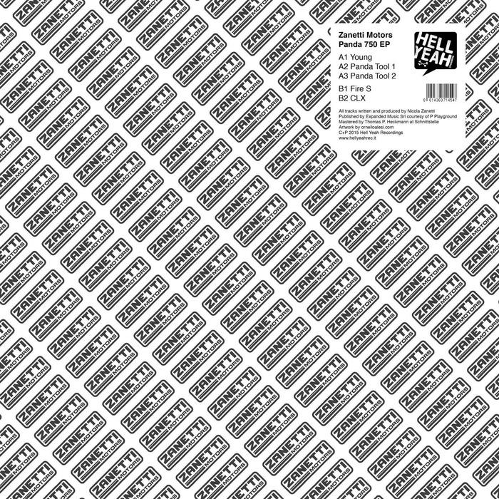 ZANETTI MOTORS - Panda 750 EP
