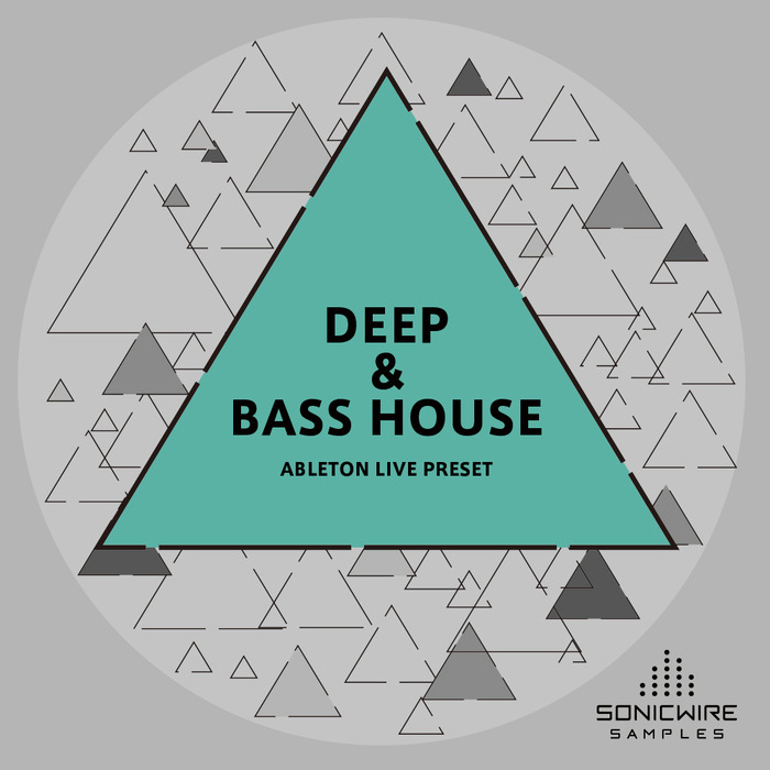 SONICWIRE SAMPLES - Deep & Bass House Ableton Live Presets (Sample Pack LIVE/MIDI)