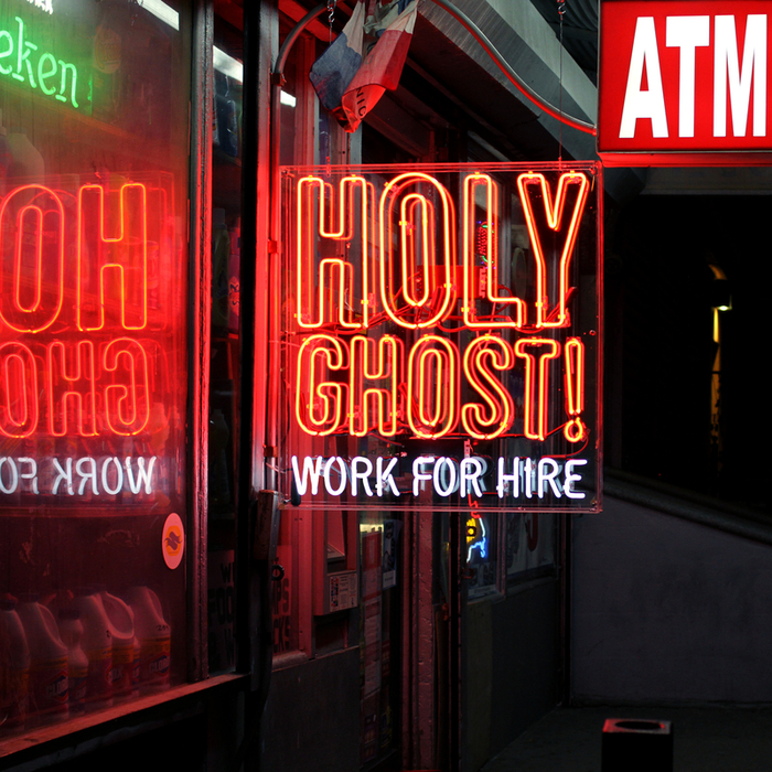 VARIOUS - Work For Hire (Holy Ghost remixes)