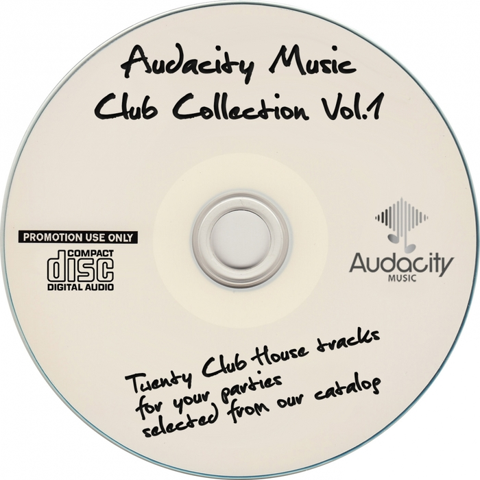 VARIOUS - Audacity Music Club Collection Vol 1